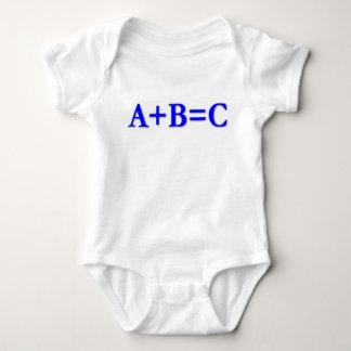 A+B=C T SHIRT