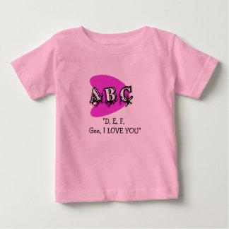 A B C TEE SHIRT