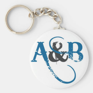 A&B KEYCHAIN (LETTERING)