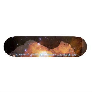A.B/pro model Skateboard Deck