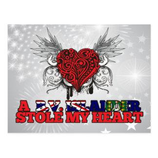 A B.V. Islander Stole my Heart Post Cards