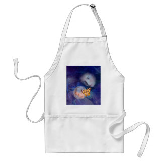 A baby and mother's joy adult apron