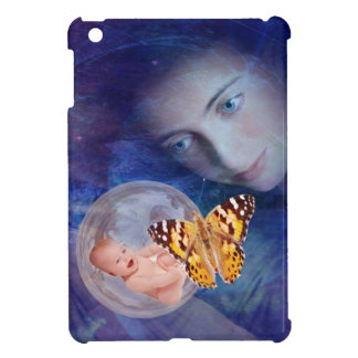 A baby and mother's joy iPad mini cover
