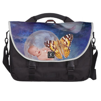 A baby and mother's joy laptop computer bag