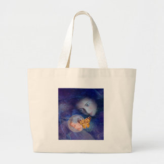 A baby and mother's joy large tote bag