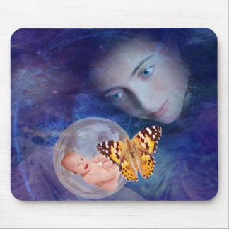 A baby and mother's joy mouse pad