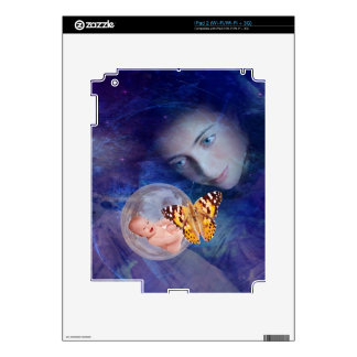 A baby and mother's joy iPad 2 skin