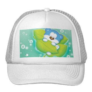 a baby bear trucker hat