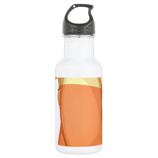 A baby girl crying 18oz water bottle