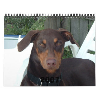 A Baby Hound, A Baby Dog 2007 Wall Calendars