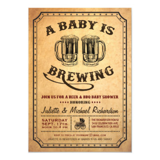 bbq baby shower invitations  announcements  zazzle, Baby shower
