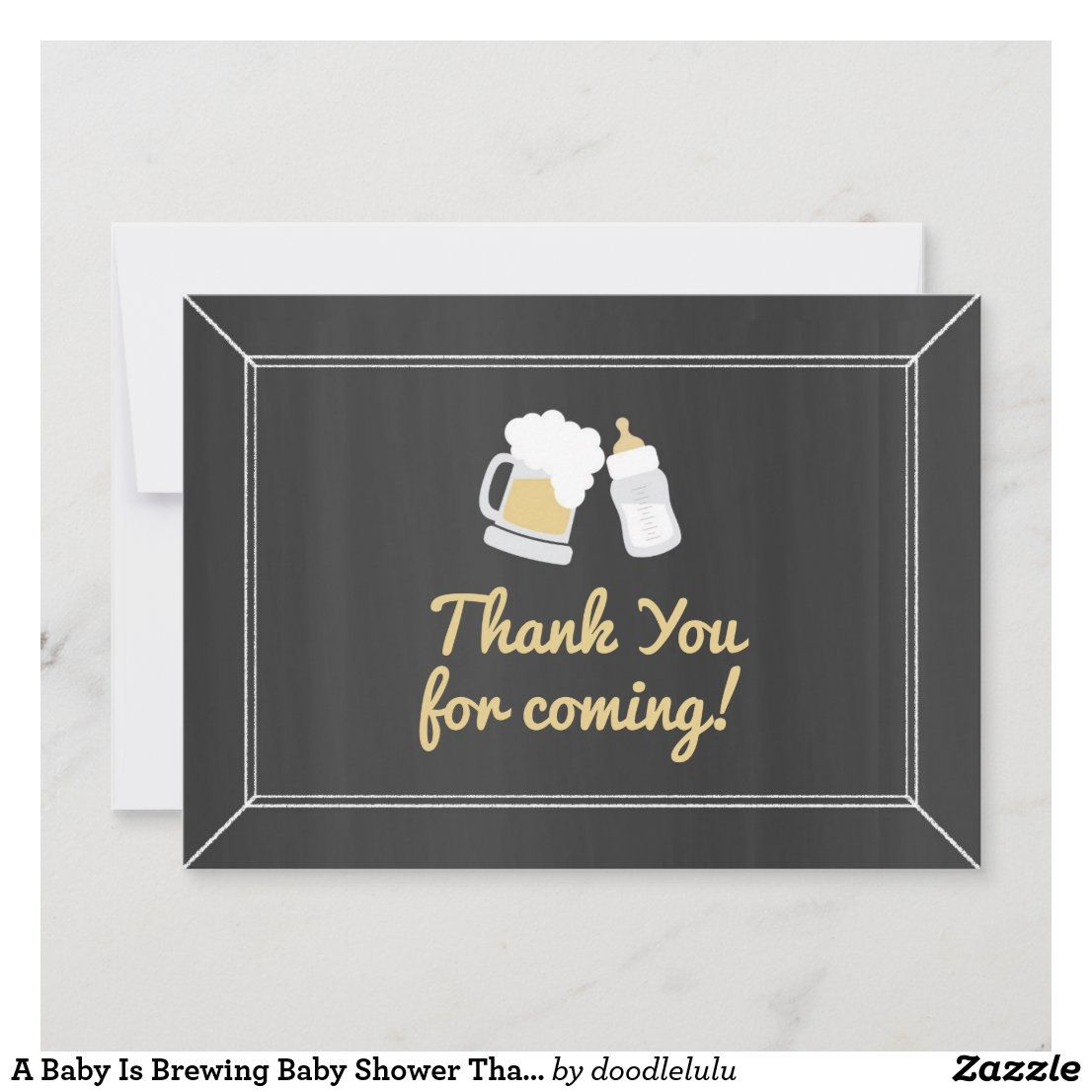 A Baby Is Brewing Baby Shower Thank You