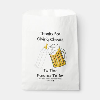 A Baby Is Brewing Favor Bags