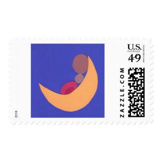 A Baby Moon Company Logo stamp