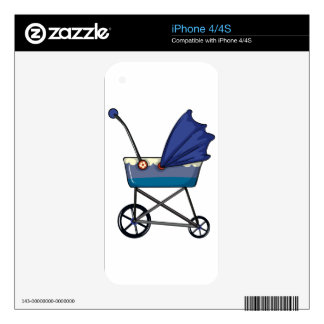 A baby pram skins for iPhone 4