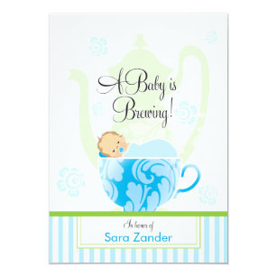 tea party invitations zazzle