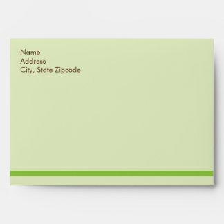 A Baby Shower Tea Party Envelop  |  Custom Envelope