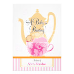 A Baby Shower Tea Party  |  Girl Personalized Invites
