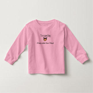 A baby sister from China! Toddler T-shirt