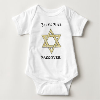 A Baby's First Passover Baby Bodysuit