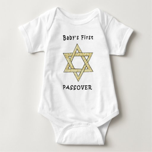 A Baby's First Passover T Shirt