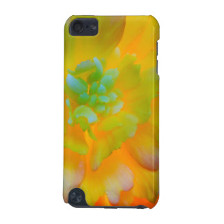 A back-lit, glowing begonia blossom iPod touch (5th generation) case