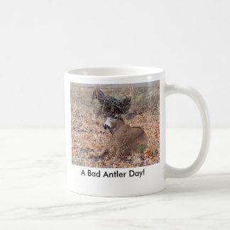 A Bad Antler Day! Classic White Coffee Mug