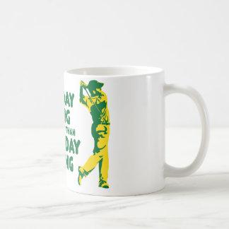 A Bad Day Golfing Coffee Mug