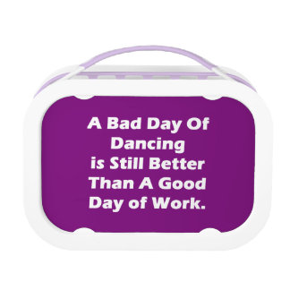 A Bad Day Of Dancing Lunch Box