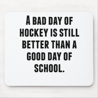 A Bad Day Of Hockey Mouse Pad