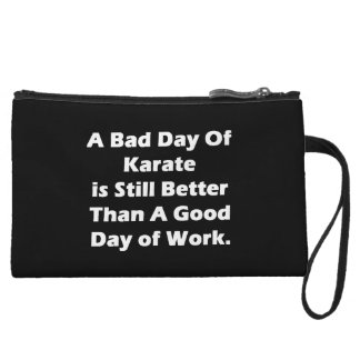 A Bad Day Of Karate Wristlet