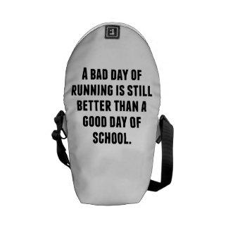 A Bad Day Of Running Messenger Bag