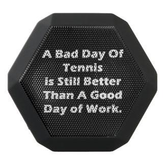 A Bad Day Of Tennis Black Bluetooth Speaker