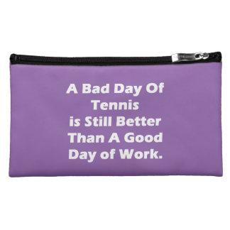 A Bad Day Of Tennis Makeup Bag