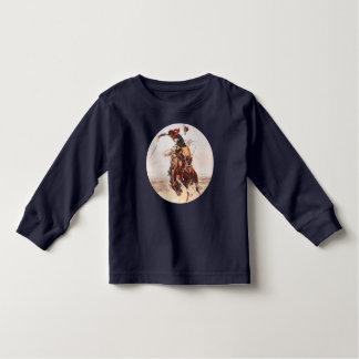 """A Bad Hoss"" Bucking Bronco Toddler T-shirt"
