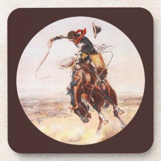 A Bad Hoss Charles Remington Coaster