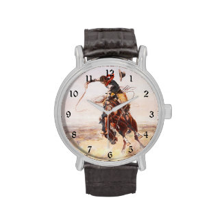A Bad Hoss Charles Russell Fine Art Wristwatches