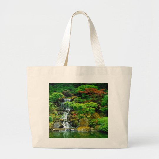 A Bag With Majestic Waterfall On It