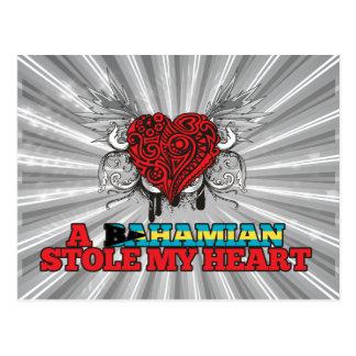 A Bahamian Stole my Heart Postcard