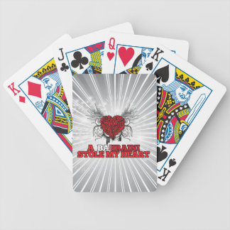 A Bahraini Stole my Heart Bicycle Playing Cards