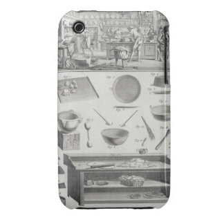 A baker's kitchen and equipment, from the 'Encyclo iPhone 3 Case-Mate Case