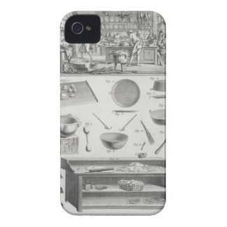 A baker's kitchen and equipment, from the 'Encyclo iPhone 4 Covers