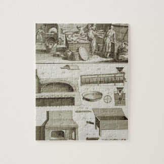 A bakery and baking equipment, from the 'Encyclope Jigsaw Puzzle