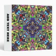 A Balance of Colors 1 Vinyl Binders