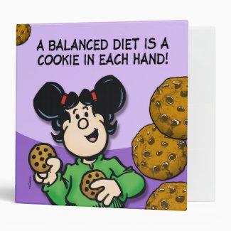 A Balanced Diet 3 Ring Binder
