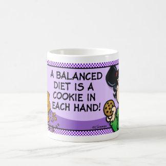 A Balanced Diet Coffee Mug