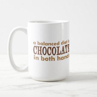 A Balanced Diet is... Coffee Mug
