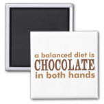 A Balanced Diet is... Refrigerator Magnets