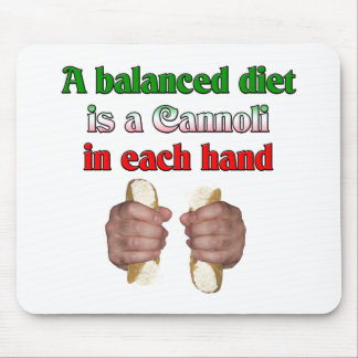 A Balanced Diet Mouse Pad
