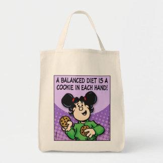 A Balanced Diet Tote Bag